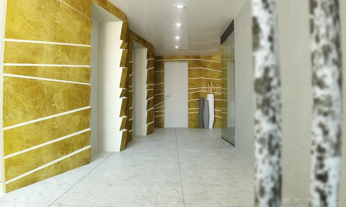 Архитектура в цветах: желтый, серый, светло-серый, бежевый. Архитектура в стилях: минимализм, эклектика.