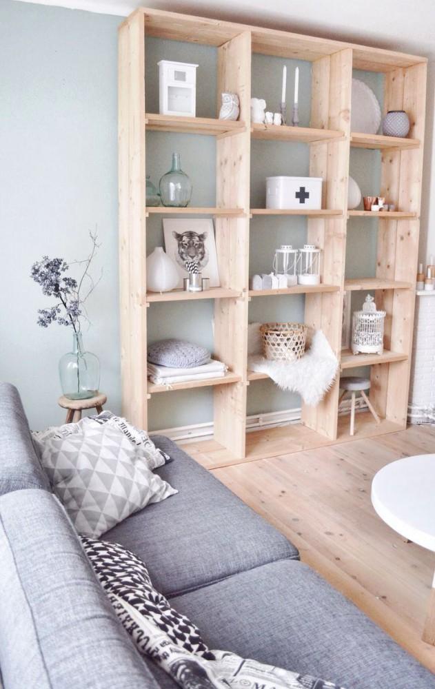 Мебель и предметы интерьера в цветах: желтый, серый, светло-серый, бежевый. Мебель и предметы интерьера в стилях: скандинавский стиль.