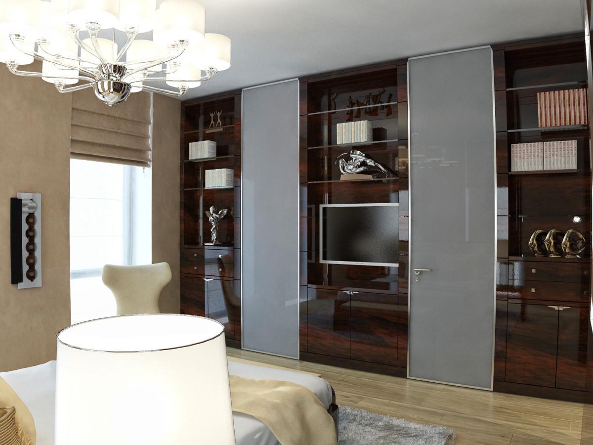 Мебель и предметы интерьера в цветах: серый, темно-коричневый, коричневый, бежевый. Мебель и предметы интерьера в стилях: арт-деко.
