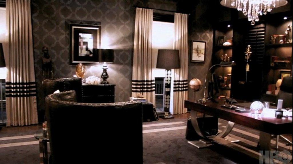 Офис в цветах: серый, белый, темно-коричневый, коричневый, бежевый. Офис в .