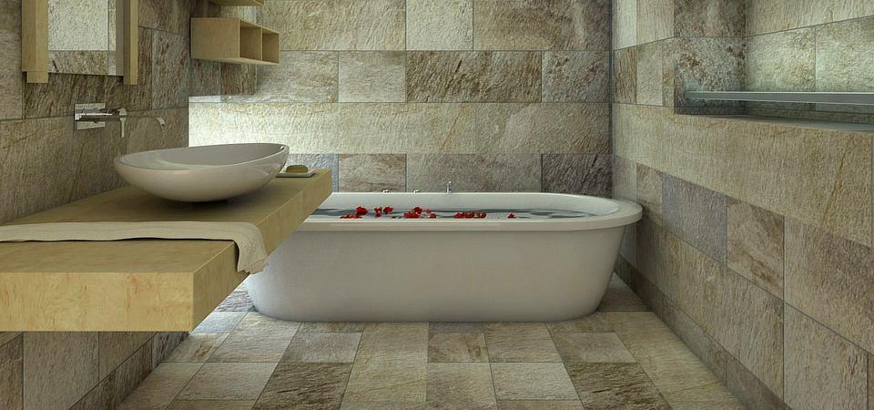 7 идей по использованию камня в ванной