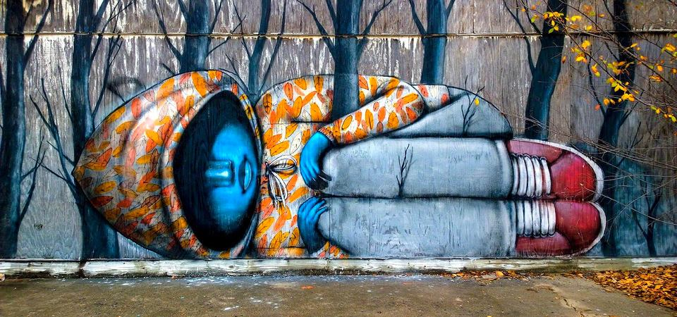 Стрит-арт как язык города: 35 самых удивительных произведений