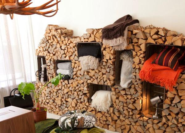 Мебель и предметы интерьера в цветах: черный, белый, темно-коричневый, коричневый, бежевый. Мебель и предметы интерьера в стилях: минимализм, экологический стиль.