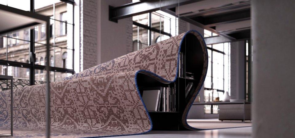 Как превратить ковёр в диван: фантазии Алессандро Изолы