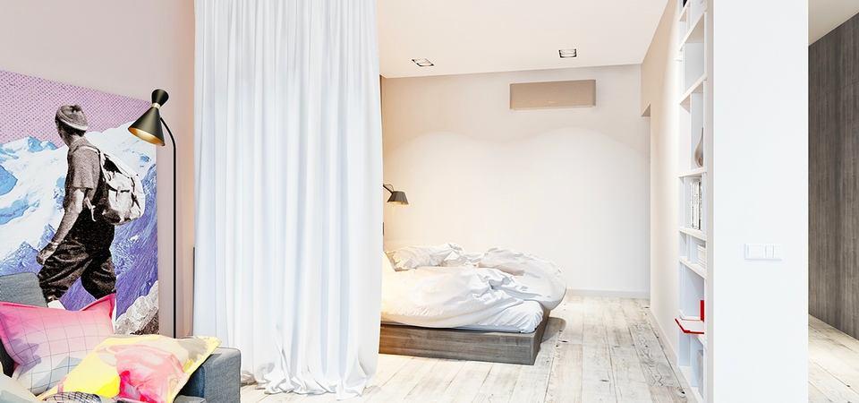 Как ещё можно использовать шторы в интерьере: 5 способов и 25 примеров