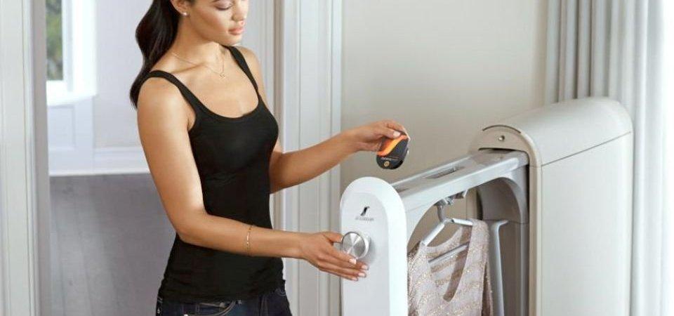 Просто невероятный агрегат! Он и утюг заменяет, и стиральную машину, и даже услугу химчистки!