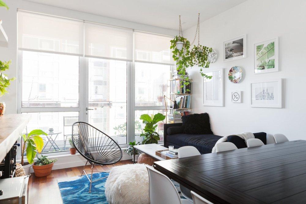 Как живут обычные люди в Бруклине: небольшая квартира с потрясающей кухней