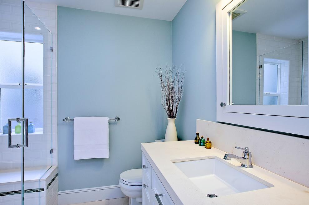 Лучшие оттенки синего для ремонта ванной комнаты