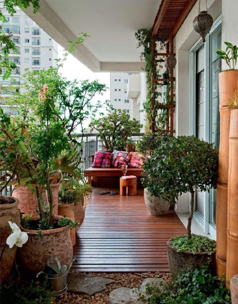 Балкон в  цветах:   Бежевый, Светло-серый, Серый, Темно-коричневый, Черный.  Балкон в  стиле:   Восточные стили.