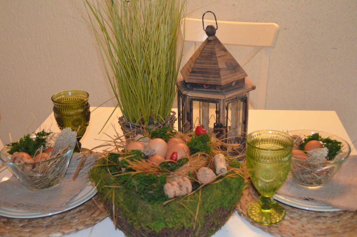 Пасхальный декор в экостиле от Оксаны Цымбаловой