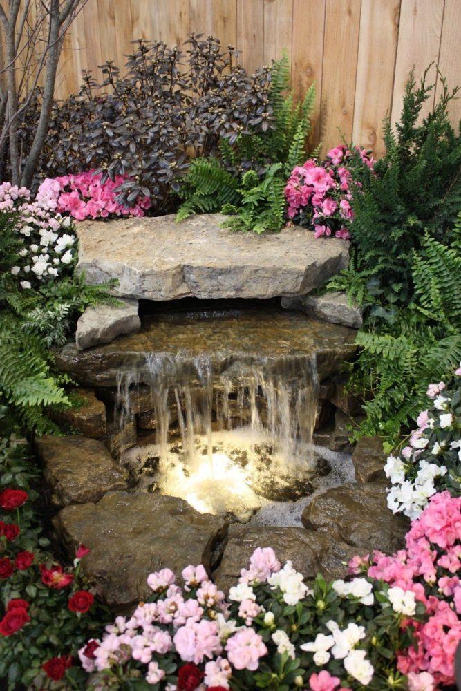 20 частных садов с маленькими и очаровательными водоёмами