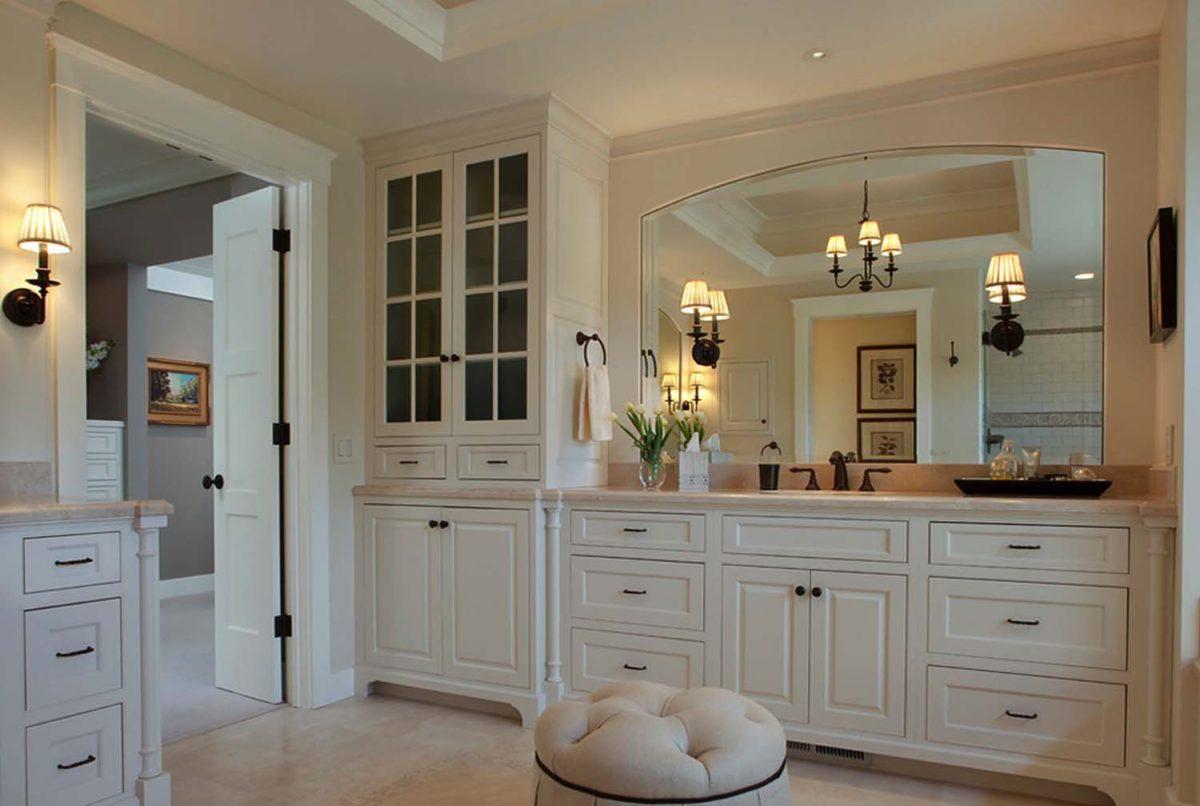 23 роскошные белые ванные комнаты