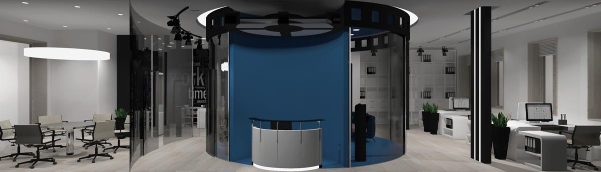 Проект офиса для кинолаборатории Cinelab