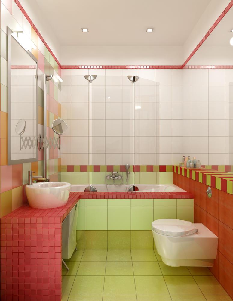 Место всегда найдётся: 20 компактных ванных комнат