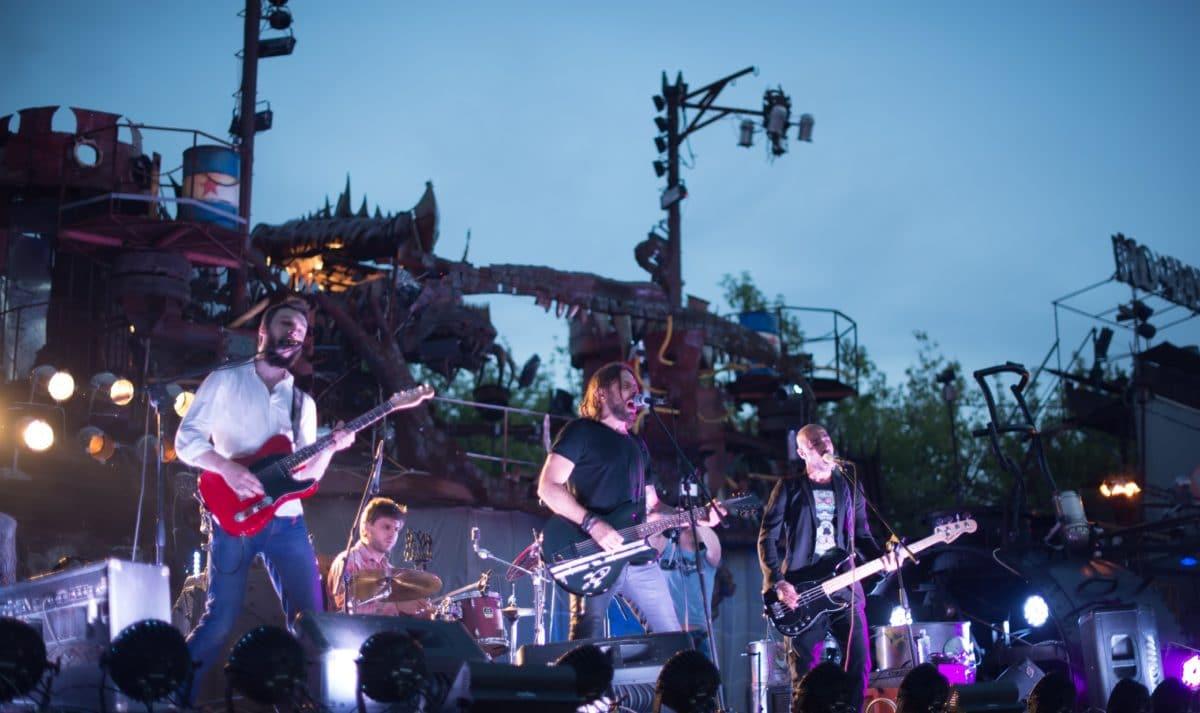 Компания «Хогарт_арт» устроила rock-вечеринку в байк-центре