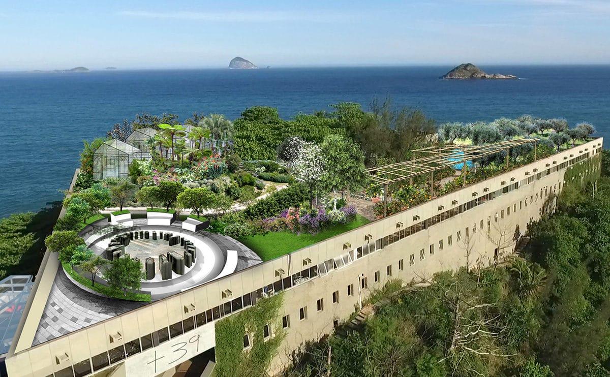 На Олимпиаде в Рио возник целый дизайнерский остров