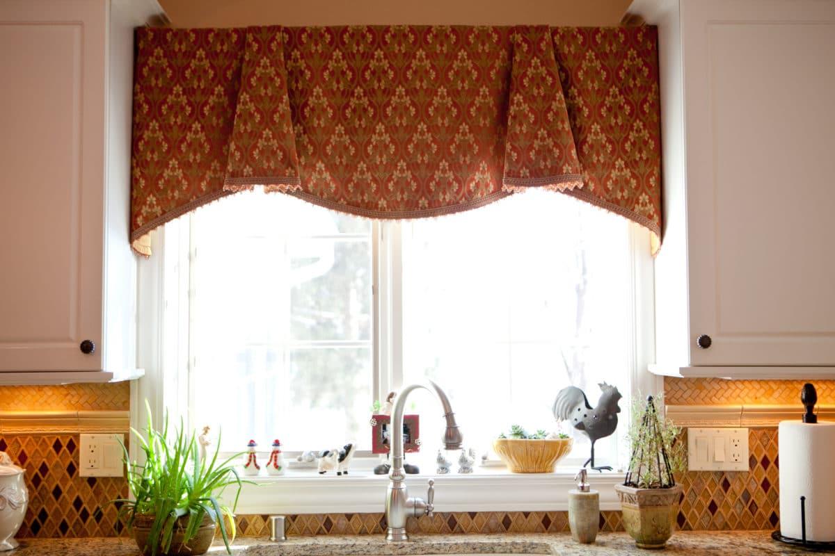 16 оригинальных идей для штор на кухне