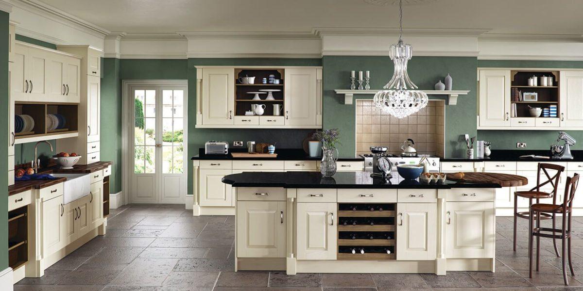 Дизайн кухни в классическом стиле: 10 вариантов интерьеров