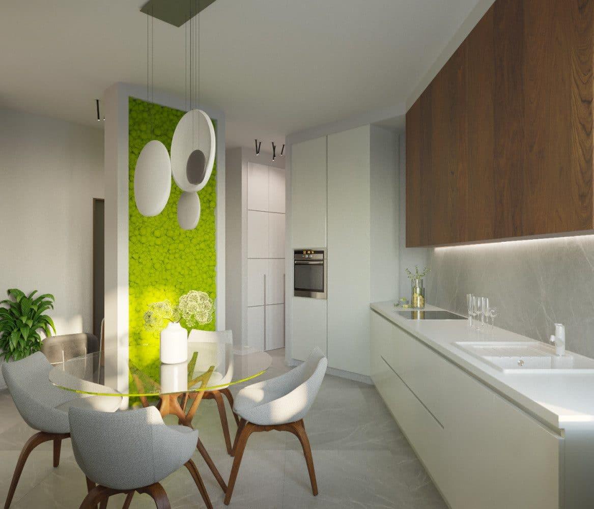 Белый интерьер: 5 маленьких квартир с белыми стенами