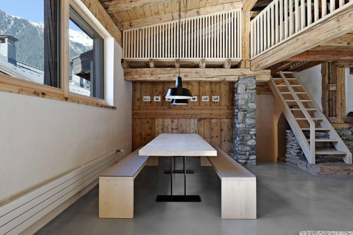 Потрясающее шале в Шамони: дом на горнолыжном курорте во Франции