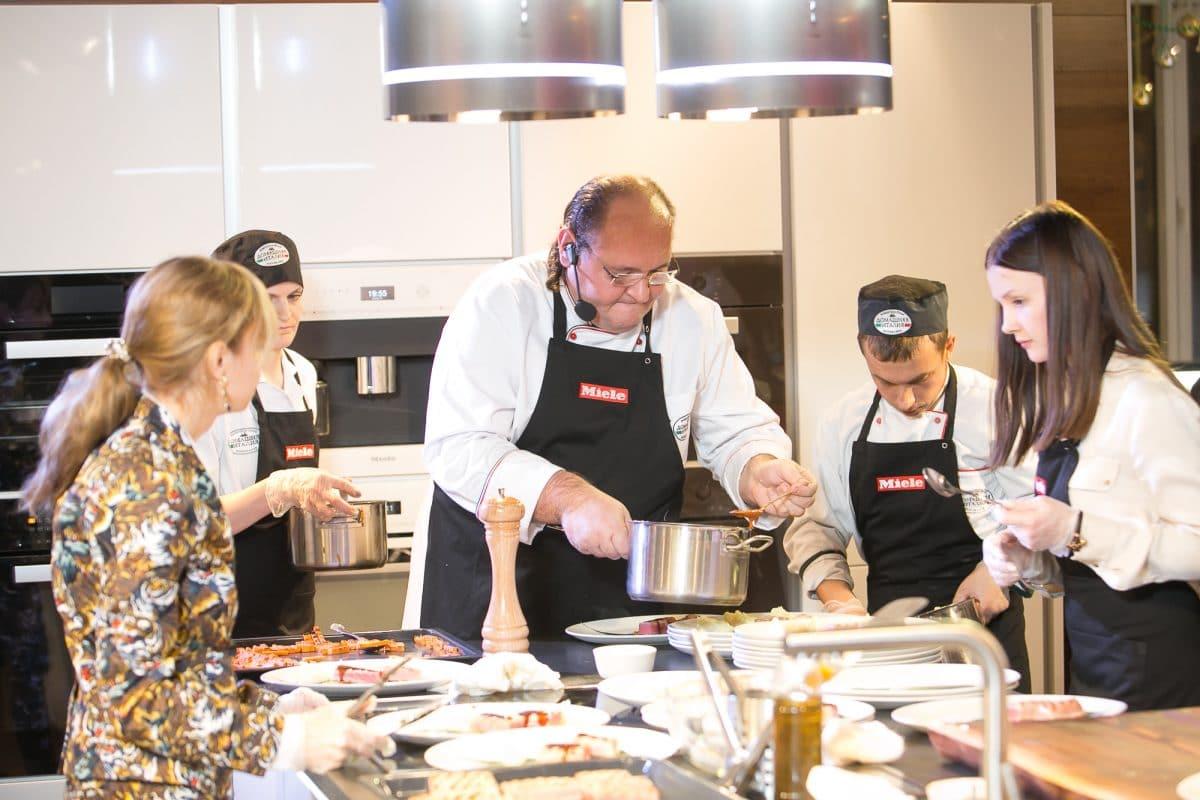 В декабре в Нижнем Новгороде состоялся кулинарный мастер-класс