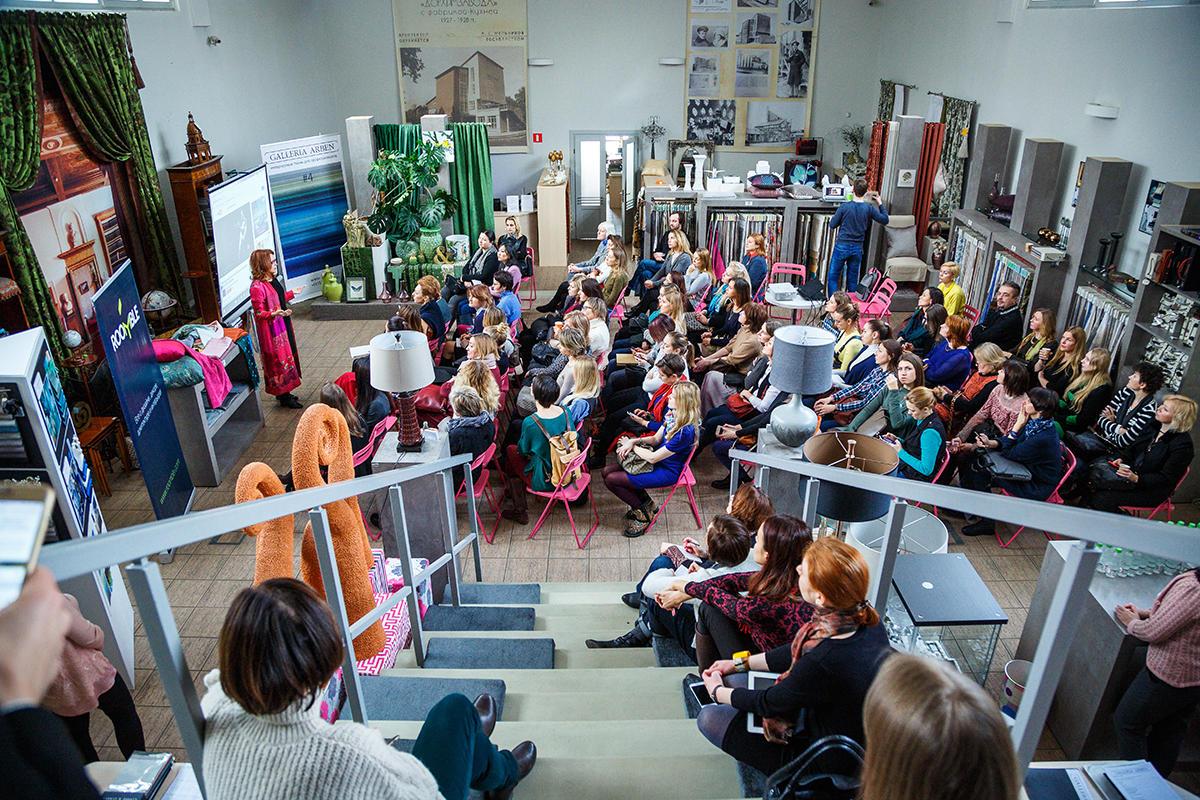 8 февраля прошла лекция Roomble о новинках и трендах выставки Maison&Objet