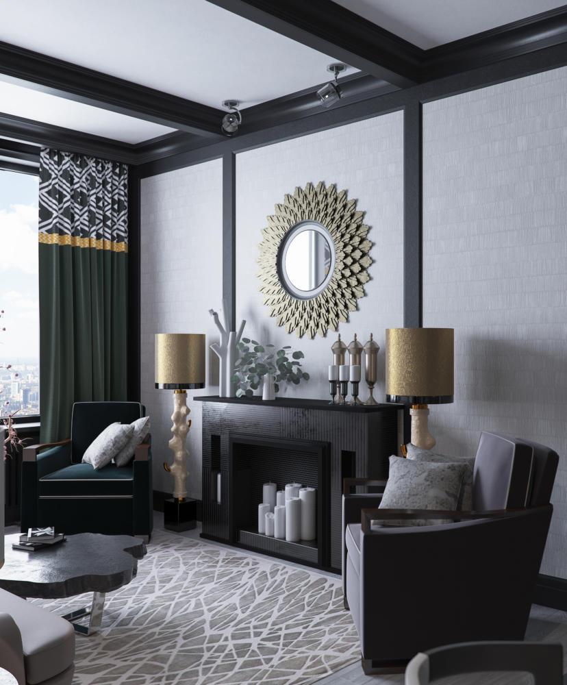 Из двушки в трёшку: стильная московская квартира в духе Келли Уистлер
