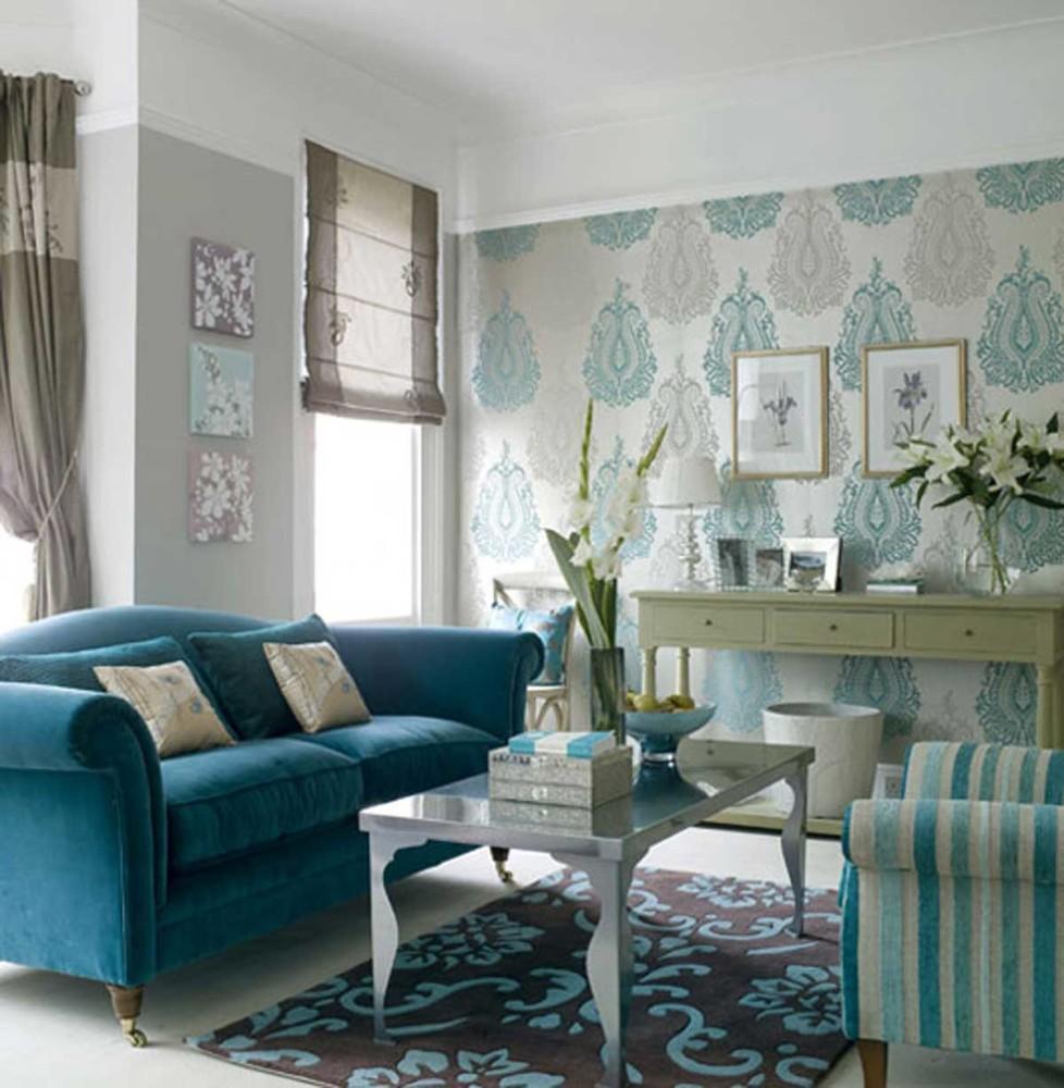 Гостиная в  цветах:   Зеленый, Коричневый, Светло-серый, Синий, Темно-зеленый.  Гостиная в  стиле:   Неоклассика.