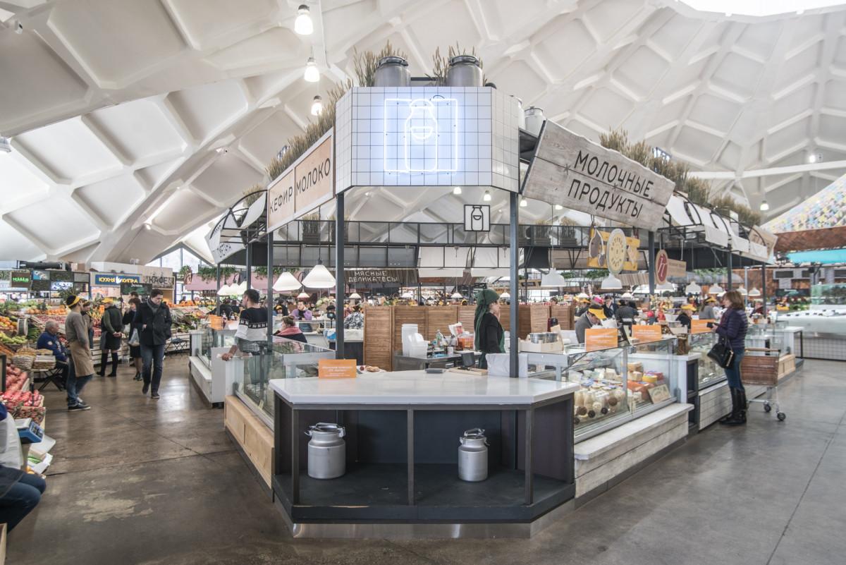 Даниловский рынок стал похож на мадридский дворик