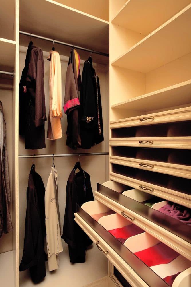 Всё о гардеробной комнате.