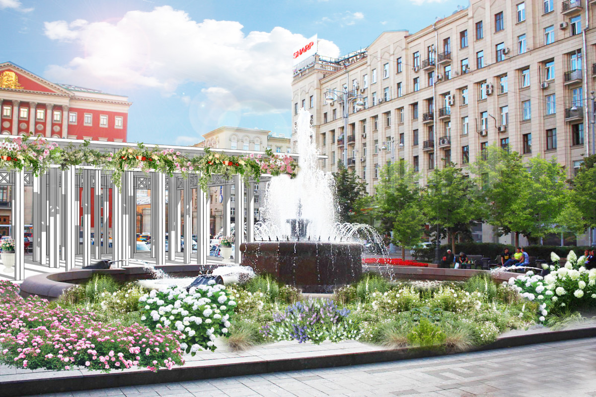 Новинки флористики и ландшафтный дизайн: у вас есть шанс озеленить Москву