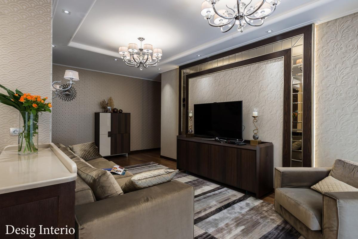 Образ гостиной складывается из индивидуальных особенностей каждого жильца. Учитываются эстетические и вкусовые пристрастия.