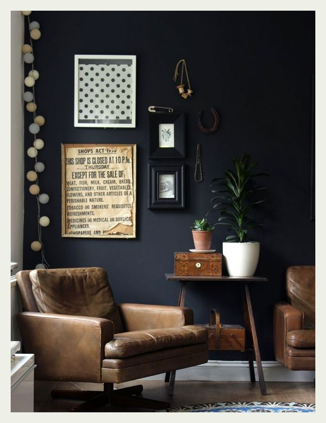 Fabulous U With Charcoal Grey Walls