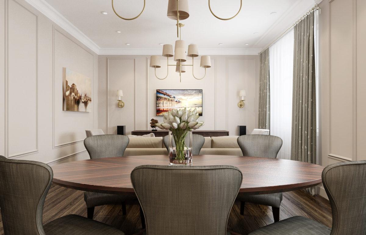 7 трёхкомнатных квартир в современном стиле