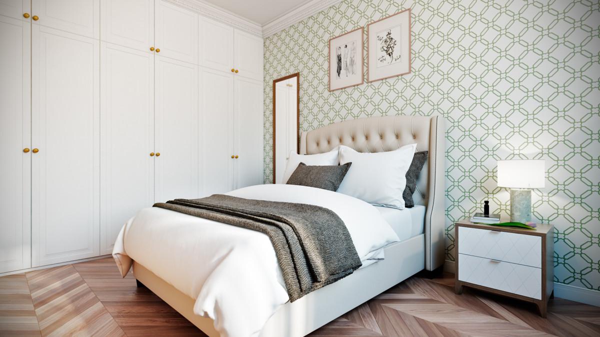 интерьер спальни хозяйки