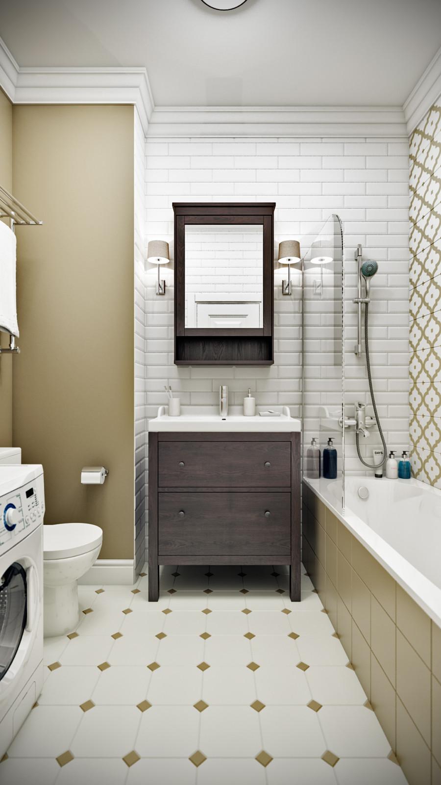 интерьер интерьер ванной комнаты