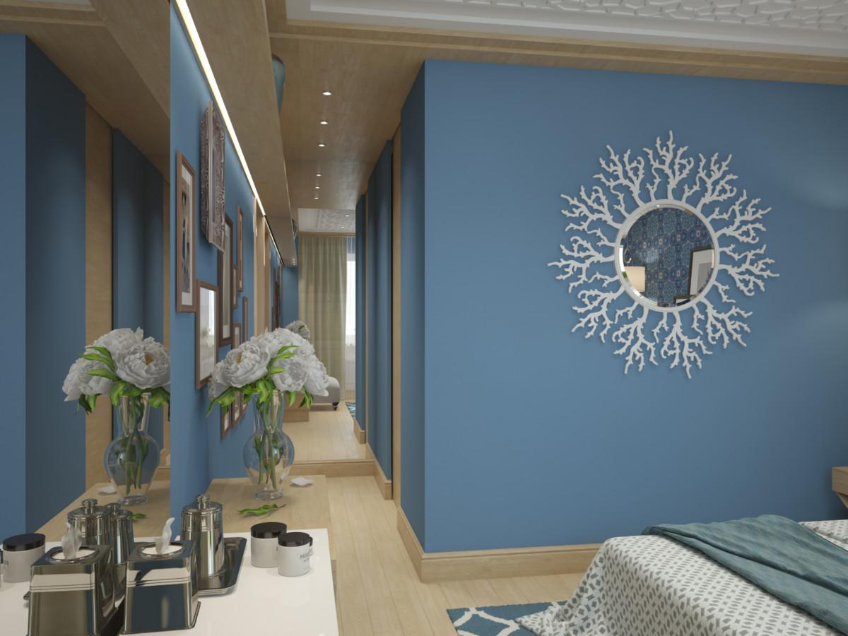 Отделка стен: краска tikkurila, обои. Напольное покрытие: техническая доска, дуб.
