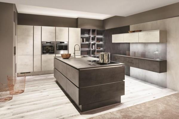 Кухня/столовая в  цветах:   Бежевый, Коричневый, Темно-коричневый.  Кухня/столовая в  .