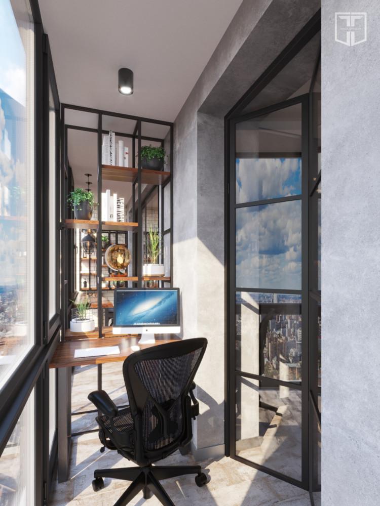 Рабочее место для хозяина квартиры.