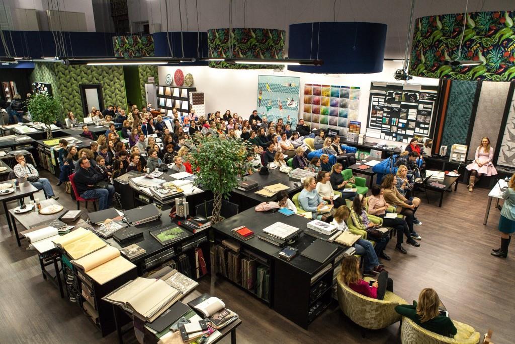 Состоялась лекция для дизайнеров от магазина «Ампир декор» и Оксаны Кашенко