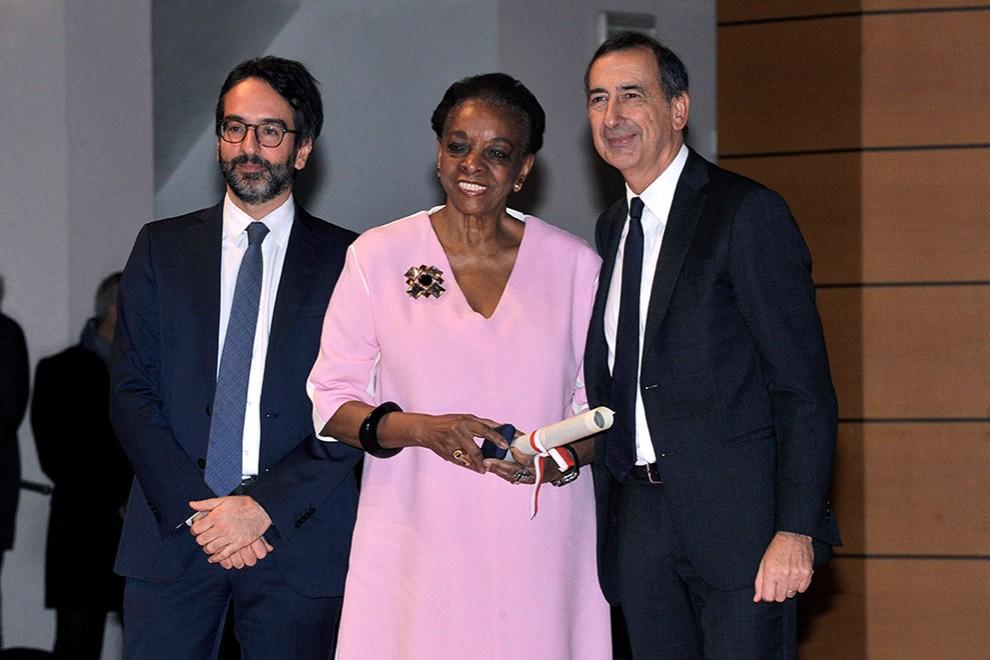 Легенда дизайна Марва Гриффин получила награду за заслуги перед Миланом