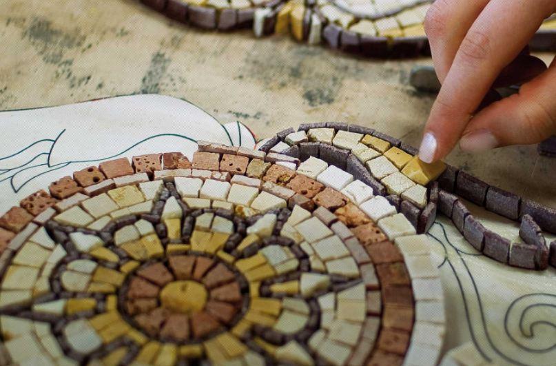 5 декабря состоится мастер-класс по применению мозаики