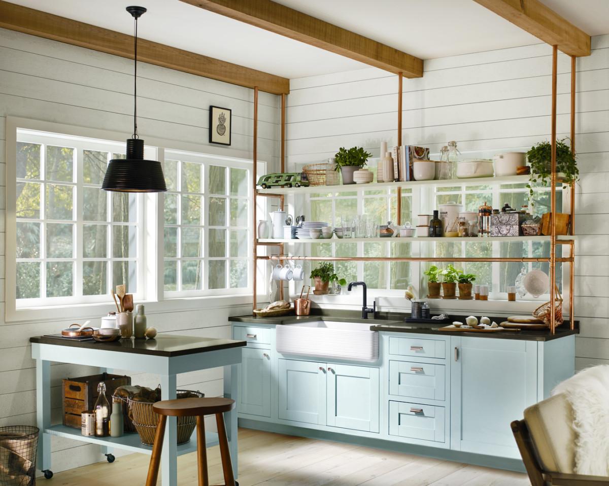 9 идей, которые помогут освежить надоевший интерьер кухни