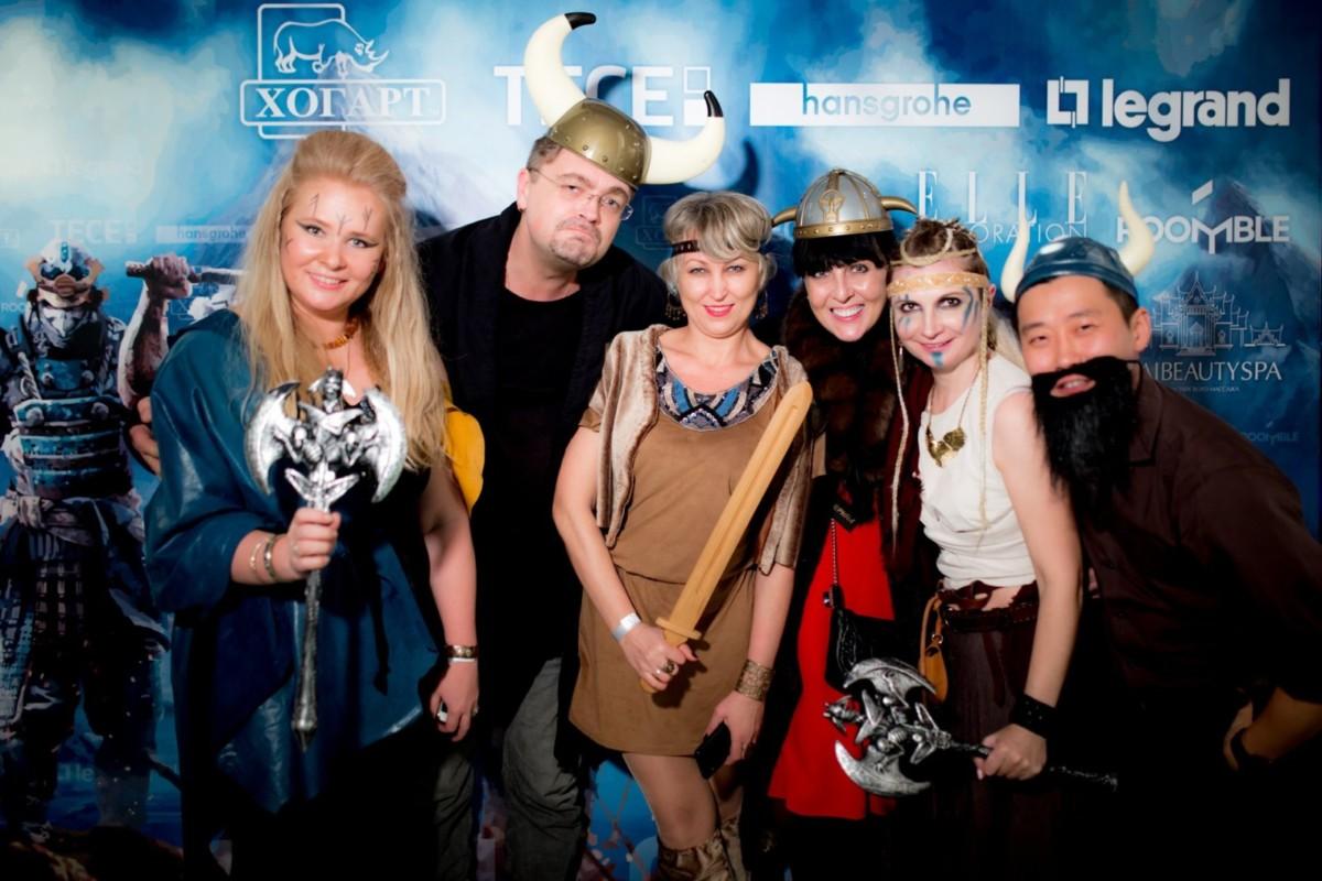В «Хогарт-арт» прошла новогодняя вечеринка в скандинавском стиле