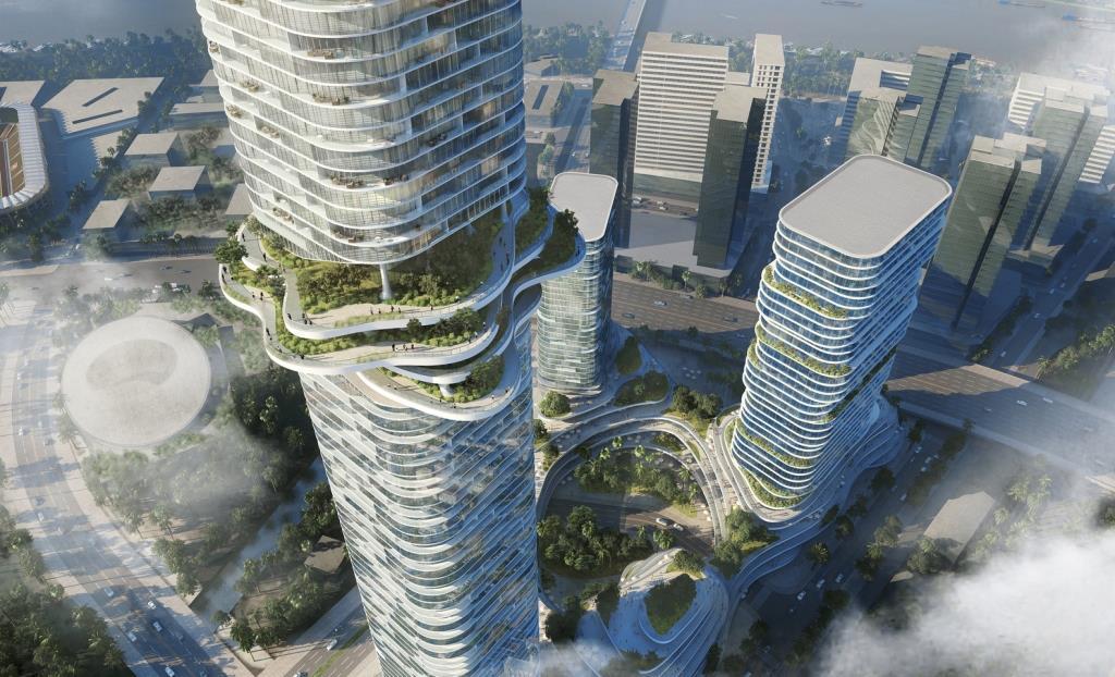 Три невероятных небоскрёба появятся во Вьетнаме