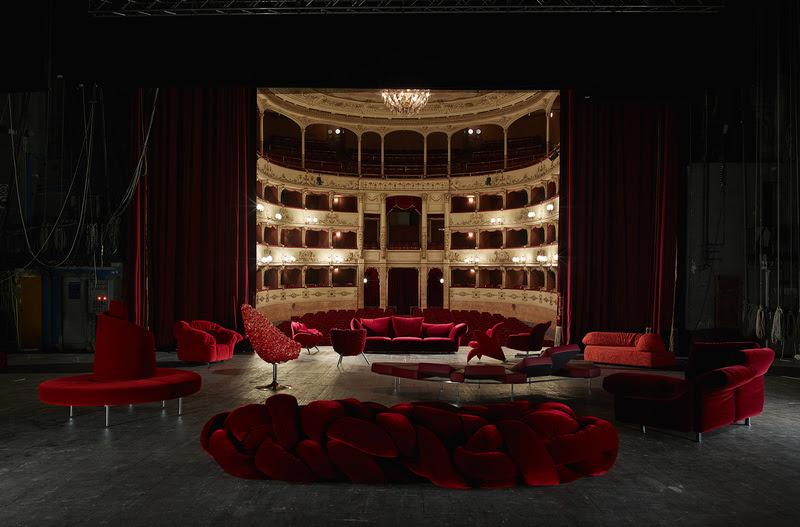 30 лет исполнилось знаменитой итальянской мебельной фабрике Edra
