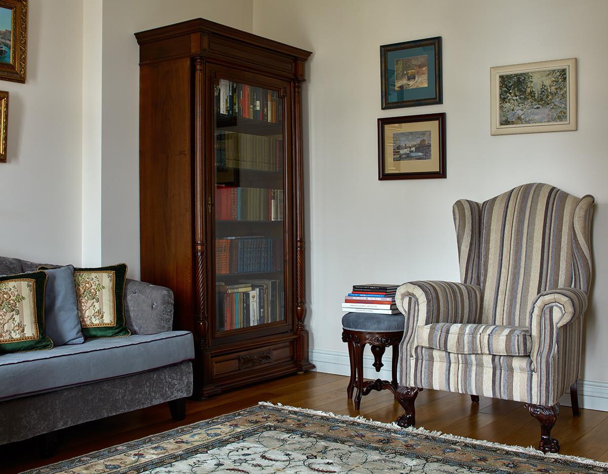 Необычная квартира в доме старого фонда