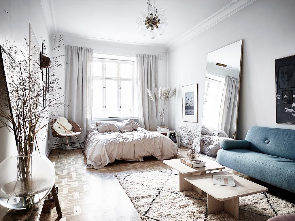 Дизайн однокомнатной квартиры площадью 40 метров