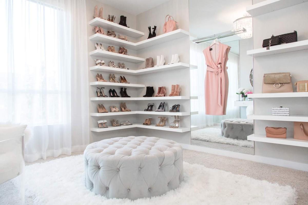 24 гардеробные комнаты для полноценного женского счастья