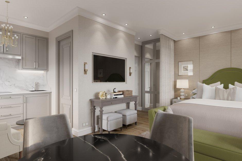 Дизайн интерьера квартиры-студии площадью 31 метр